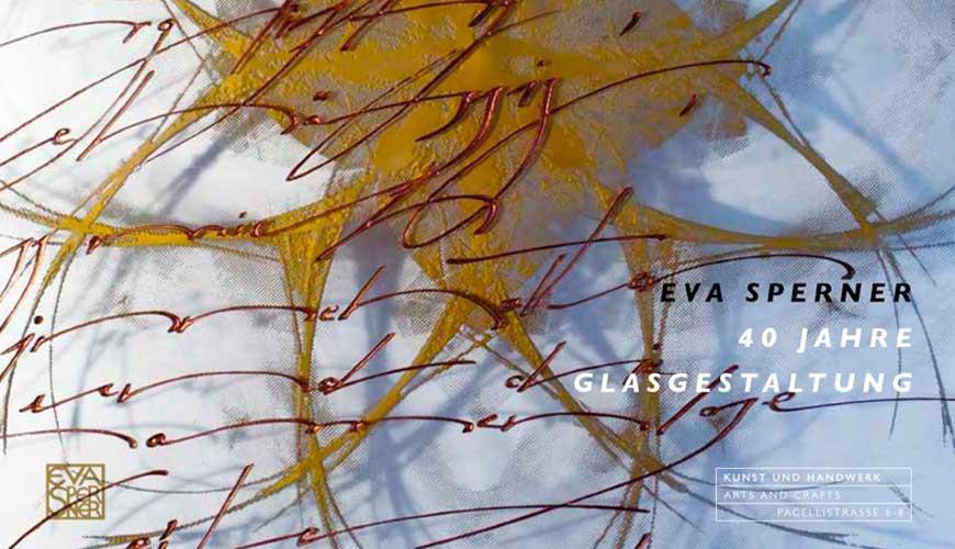 Eva Sperner 40 Jahre Glasgestaltung Katalog