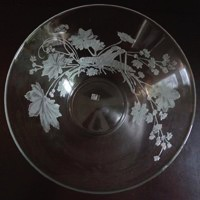 Salatschüssel Grashupfer Sperner Glas
