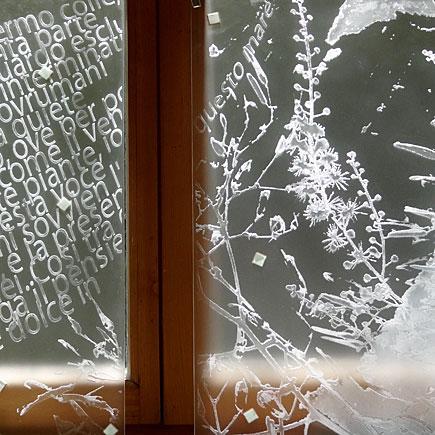 Glaskunst Aufträge für Privatkunden