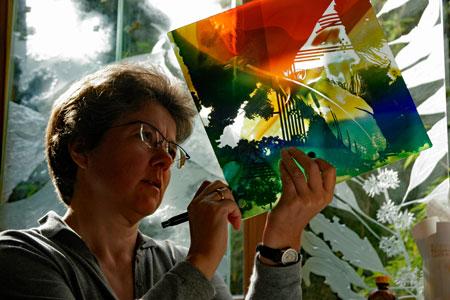 Eva Sperner Glasmalerei
